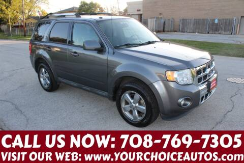 2011 Ford Escape for sale at Your Choice Autos in Posen IL
