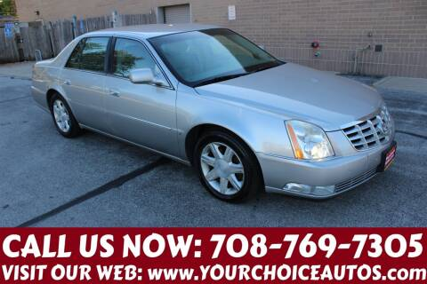 2006 Cadillac DTS for sale at Your Choice Autos in Posen IL