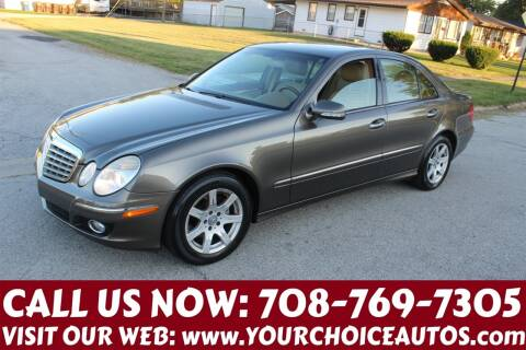 2008 Mercedes-Benz E-Class for sale at Your Choice Autos in Posen IL