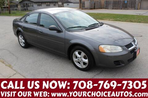 2004 Dodge Stratus for sale at Your Choice Autos in Posen IL