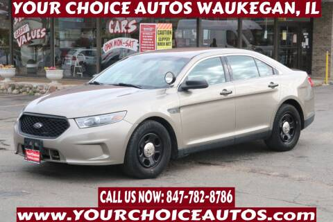2013 Ford Taurus for sale at Your Choice Autos - Waukegan in Waukegan IL
