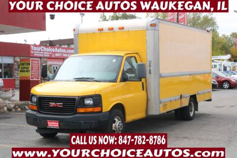 2008 GMC Savana Cutaway for sale at Your Choice Autos - Waukegan in Waukegan IL