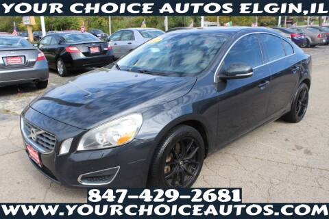 2012 Volvo S60 for sale at Your Choice Autos - Elgin in Elgin IL