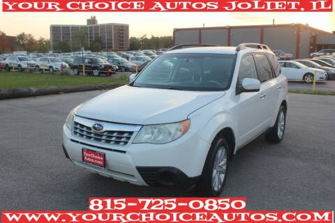 2011 Subaru Forester for sale at Your Choice Autos - Joliet in Joliet IL