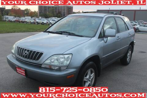 2002 Lexus RX 300 for sale at Your Choice Autos - Joliet in Joliet IL