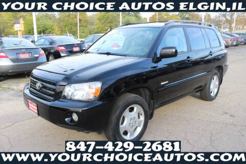 2005 Toyota Highlander for sale at Your Choice Autos - Elgin in Elgin IL