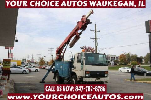 1993 Ford CF8000 for sale at Your Choice Autos - Waukegan in Waukegan IL