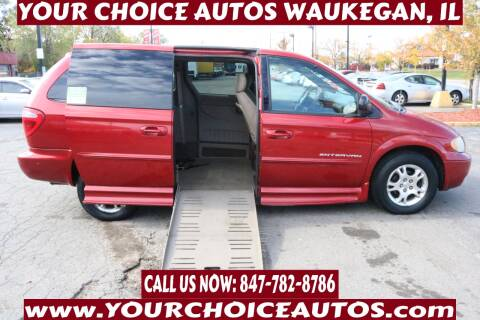 2003 Dodge Grand Caravan for sale at Your Choice Autos - Waukegan in Waukegan IL