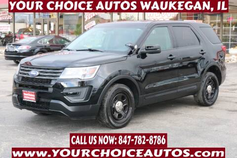 2017 Ford Explorer for sale at Your Choice Autos - Waukegan in Waukegan IL