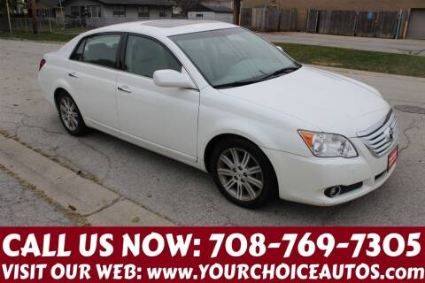 2008 Toyota Avalon for sale at Your Choice Autos in Posen IL