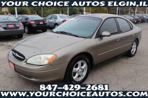 2002 Ford Taurus for sale at Your Choice Autos - Elgin in Elgin IL