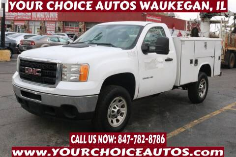 2011 GMC Sierra 2500HD for sale at Your Choice Autos - Waukegan in Waukegan IL
