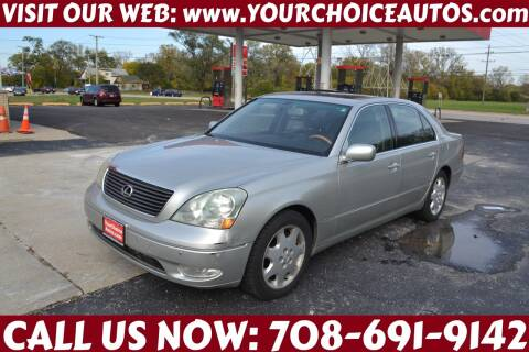 2003 Lexus LS 430 for sale at Your Choice Autos - Crestwood in Crestwood IL