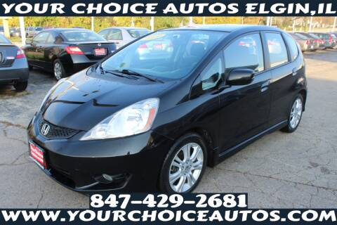 2009 Honda Fit for sale at Your Choice Autos - Elgin in Elgin IL
