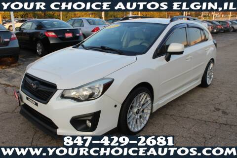 2012 Subaru Impreza for sale at Your Choice Autos - Elgin in Elgin IL