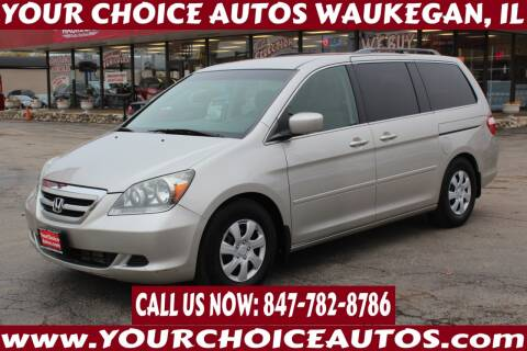 2007 Honda Odyssey for sale at Your Choice Autos - Waukegan in Waukegan IL