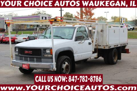 2000 GMC Sierra 3500 for sale at Your Choice Autos - Waukegan in Waukegan IL