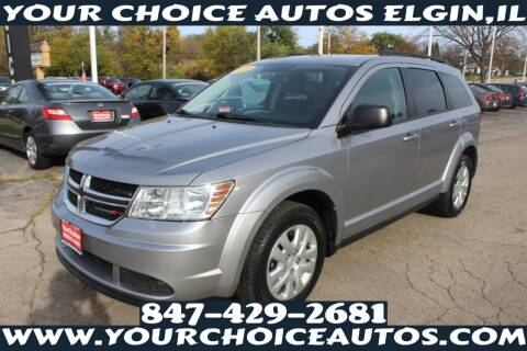 2016 Dodge Journey for sale at Your Choice Autos - Elgin in Elgin IL