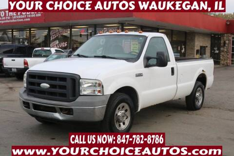 2005 Ford F-250 Super Duty for sale at Your Choice Autos - Waukegan in Waukegan IL