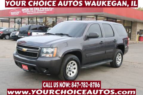 2010 Chevrolet Tahoe for sale at Your Choice Autos - Waukegan in Waukegan IL
