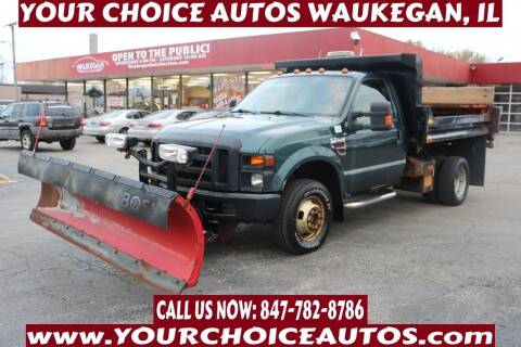 2008 Ford F-350 Super Duty for sale at Your Choice Autos - Waukegan in Waukegan IL