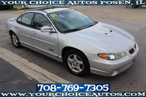 2001 Pontiac Grand Prix for sale in Posen, IL