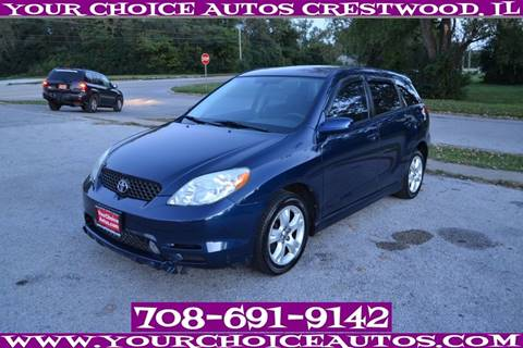 2003 Toyota Matrix for sale in Crestwood, IL