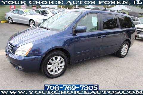 2008 Kia Sedona for sale in Posen, IL