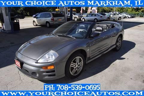 2003 Mitsubishi Eclipse Spyder for sale in Markham, IL