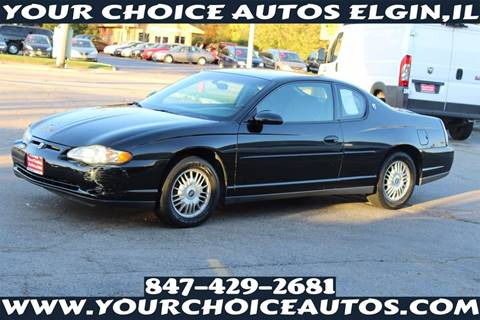 2000 Chevrolet Monte Carlo for sale in Elgin, IL