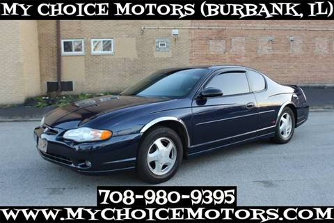 2001 Chevrolet Monte Carlo for sale in Burbank, IL