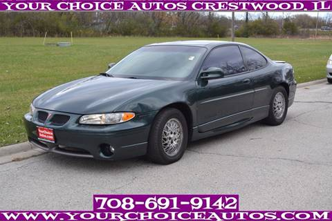 1998 Pontiac Grand Prix for sale in Crestwood, IL