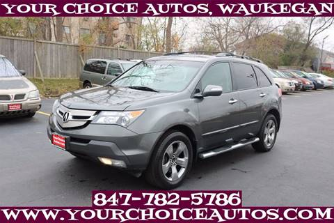 2007 Acura MDX for sale in Waukegan, IL