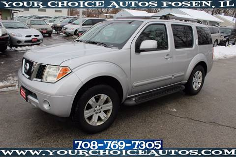 2006 Nissan Pathfinder for sale in Posen, IL