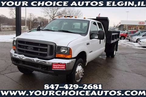 2001 Ford F-450 Super Duty