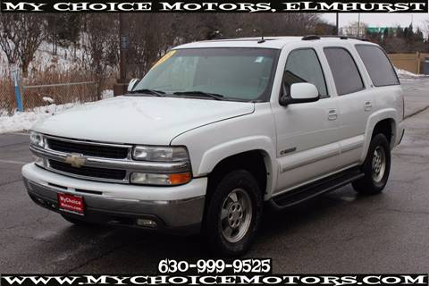 2003 Chevrolet Tahoe for sale in Elmhurst, IL