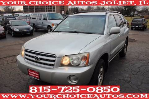 2003 Toyota Highlander for sale in Joliet, IL