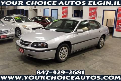 2004 Chevrolet Impala for sale in Elgin, IL