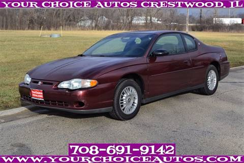 2000 Chevrolet Monte Carlo for sale in Crestwood, IL