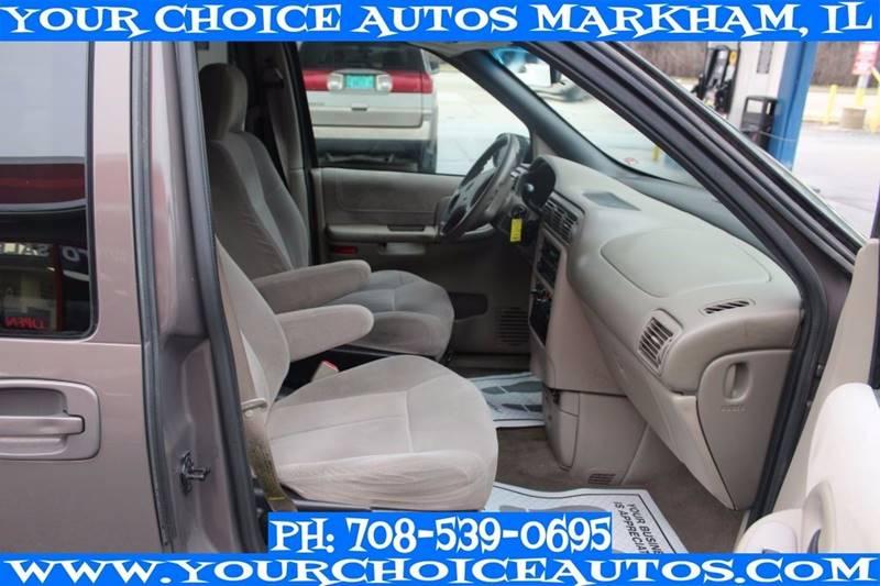 2001 Oldsmobile Silhouette GL 4dr Extended Mini-Van - Markham IL