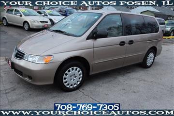2004 Honda Odyssey for sale in Posen, IL