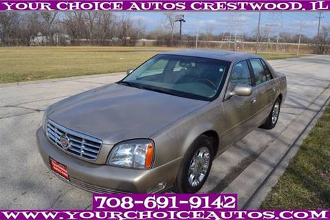 2005 Cadillac DeVille for sale in Crestwood, IL