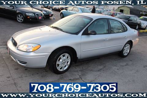 2006 Ford Taurus for sale in Posen, IL