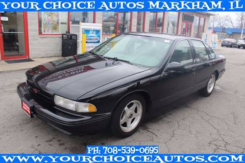 1996 Chevrolet Impala for sale in Markham, IL