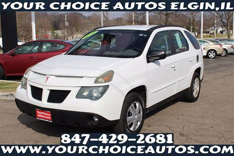 2004 Pontiac Aztek for sale in Elgin, IL