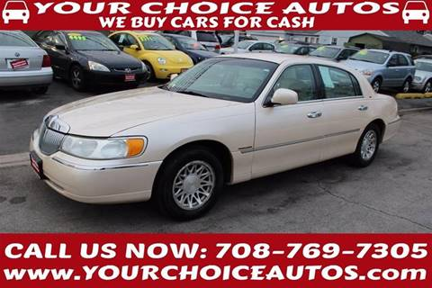 1998 Lincoln Town Car for sale in Posen, IL
