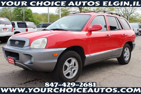 2003 Hyundai Santa Fe for sale in Elgin, IL