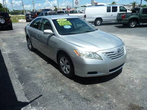 2007 Toyota Camry for sale at Victory Auto Group LLC in Stuart FL