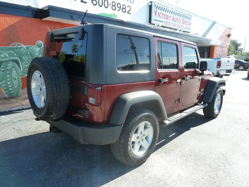 2009 Jeep Wrangler Unlimited for sale at Victory Auto Group LLC in Stuart FL