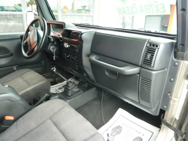 2003 Jeep Wrangler for sale at Victory Auto Group LLC in Stuart FL